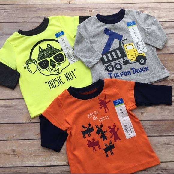 c67f63a3070a Okie Dokie Shirts & Tops | Hp 3 Long Sleeve Shirts | Poshmark